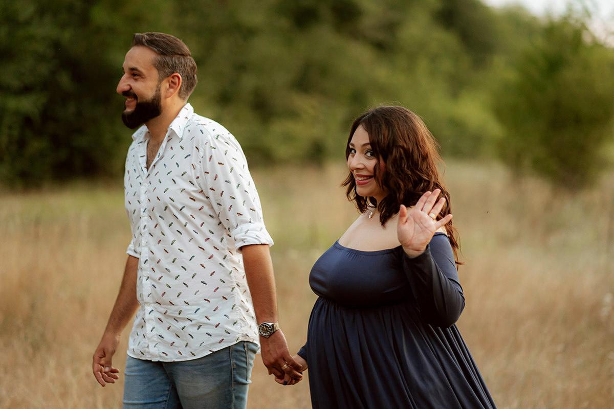 Antonia & Bogdan | Pregnancy | Silhouettes.ro