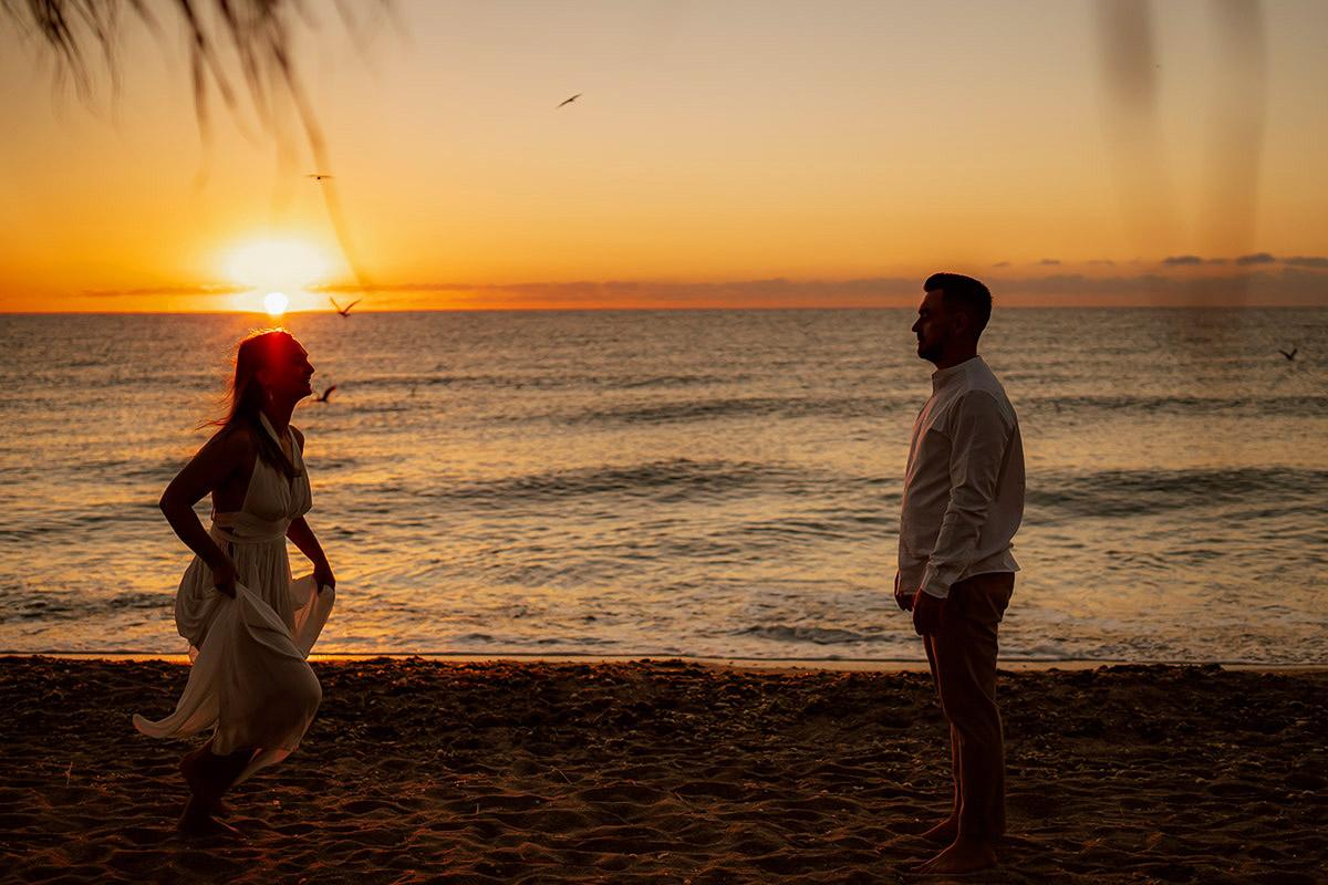 Sunrise Emma & Andrei | Silhouettes.ro
